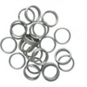 Metallringe Federringe für Nylon Schäfte 3 Stück