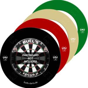 BULL'S Quarterback EVA Dart Board Surround - Farbe Creme
