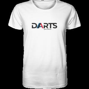 Darts Sport Edition T-Shirt weiß S (Small)
